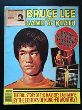 1976 Bruce Lee Kung-Fu Monthly Collectors Edition - Stars In Game of Death, EX