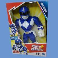 Mega Mighties Playskool Heroes - Power Rangers - Blue 10 Inch Action Figure