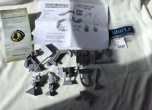Games Workshop, Forge World, Warhammer, Ork Stompa Claw Arm. Resin.