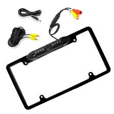 Enrock License Plate Frame Waterproof Rear View Backup Camera w/ Parking Assist