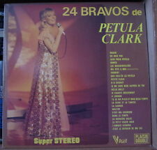 24 BRAVOS DE PETULA CLARK DOUBLE FRENCH LP VOGUE 1973