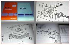 Hitachi EX15-2 Excavator and Equipment Parts catalog 1995 - 1996