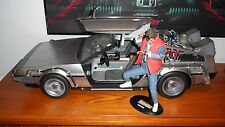 Hot Toys Back to the Future Time Machine Delorean MMS 260 1/6th Scale Vehicle