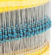 600 Pcs 30 Values 14w 1 Metal Film Resistors Resistance Assortment Kit Set Us
