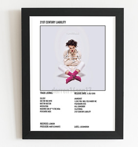 Yungblud Poster 21st Century Liability Album Art Polaroid Style Poster A5 A4 A3
