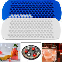 Mini Silicone Ice Cube Tray Maker Molds Party Heart Square Bar Cocktail Whiskey