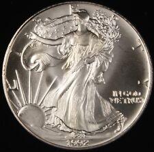 1992 American Silver Eagle ASE  BU in Deluxe Case