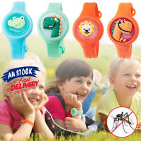 Ring Essential Oil Repellent Wristband Baby Bracelet Anti Mosquito Cartoon Kids