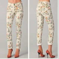 COH Citizens of Humanity Thompson Skinny Ankle Floral Print Jean - Size 27 MINT