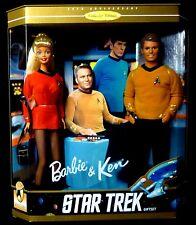 Barbie & Ken Star Trek Gift Box Set 1996 Collector Edition Mattel Toys 12 Inch