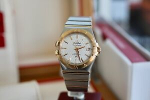 Omega Constellation 18K Red Gold 123.20.35.20.02.005 2018 ExDisplay Lozenge Dial