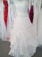 Robe de mariée/soirée neuve :  Taille 36 - LIVRABLE DE SUITE  coloris blanc