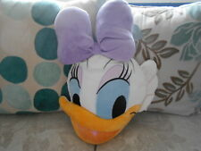 DAISY DUCK children's character cushion DISNEY STORE head shaped