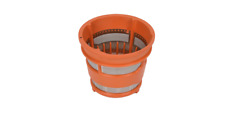 Filtre Extracteur Orange pour Moulinex Infiny Jus de Zu255 - Zc255 Ss-194375