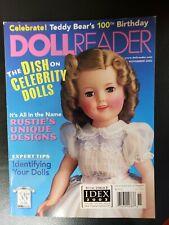 Doll Reader Magazine November 2002 Celebrity Dolls Teddy Bears 100 Birthday.NEW