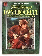 Walt Disney's DAVY CROCKETT King Of The Wild Frontier Dell 1-Shot 1955 FN+