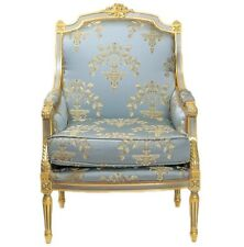 ARMCHAIR EMPIRE NAPLES WITH PILLOW - BLUE  #MB250B