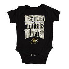 "Colorado Buffaloes Ncaa Outerstuff Newborn Black ""Destined"" Creeper"