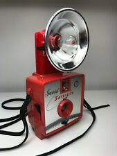 Vintage Imperial Satellite 127 Flash Camera - Red with Red Flash - Nice Camera!