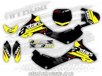 NitroMX Graphic Kit for SUZUKI JR 80 All Years Motocross Decal Sticker Design MX