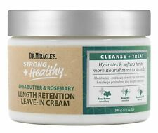 Dr.Miracle's Length Retention Leave In Cream with Shea Butter, Rosemary 12 oz
