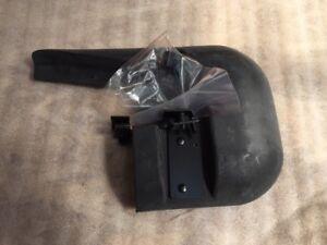 Peugeot 712831 Schmutzfänger Spritzklappe mit Befestigungsteil