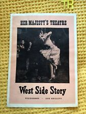 More details for west side story , 12th dec 1958 , very rare first uk production premiere