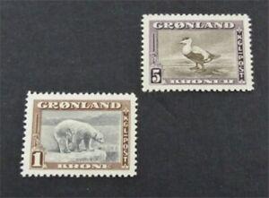 nystamps Greenland Stamp # 16.18 Mint OG H $45   A30y270