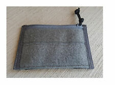 Milspc Monkey MSM Morale Patch Panel Admin Pouch Pocket WOLF GREY GRAY Hook Loop