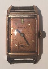 Vintage Bulova Watch Wristwatch 21 Jewel Rose Gold 14K Gold Filled 7AP New York