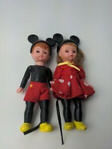McDONALDS MADAME ALEXANDER MICKEY BOY AND MINNIE GIRL DOLLS (B-9)