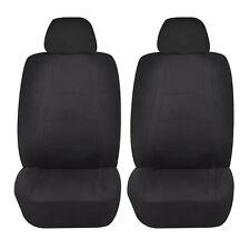 BLACK RACER AIRBAG COMPATIBLE LOWBACK SEAT COVER SET for VOLVO C30 S40 XC 70