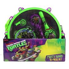 Teenage Mutant Ninja Turtles Party Band 10 Piece Musical Drum Set Toy