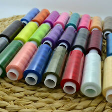 24X Mixed Colors Polyester Spool Sewing Thread For Machine High Quality Set Nice