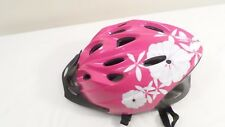 Vintage Pink Floral Schwinn Girls Bicycle Bike Helmet