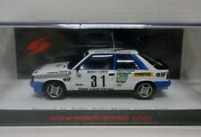 Renault 11 Turbo Rally Monte Carlo 1985 A. Oreille 1/43 Spark
