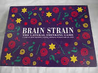 VINTAGE BRAIN STRAIN BOARD GAME THE LATERAL THINKING GAME / LAGOON GAMES