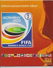 PANINI FIFA Women's World Cup 2011 Germany  20 nummern aussuchen