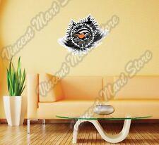 "Sun Set Ocean Dolphin Summer Gift Idea Wall Sticker Room Interior Decor 25""X20"""