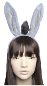 Donkey Ears With Tail Aliceband Headband World Book Day Fancy Dress Party UK