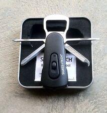 Swiss+Tech 8-in-1 Swivel Tool & Flashlight in Tin Gift Box