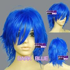 Blue Short Wigs & Hairpieces