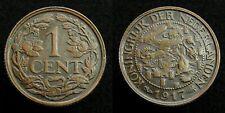 Netherlands - 1 Cent 1917 Prachtig
