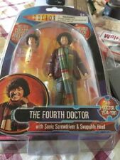 4th doctor Who / Forth Doctor Who / Sonic Screwdriver Swapable Head Rare