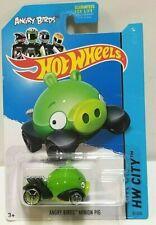 2014 Hot Wheels City Angry Birds Minion Pig 81