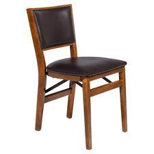 Stakmore Retro Upholstered Folding Chair - Set of 2
