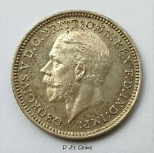 More details for 1927 king george v silver proof threepence coin. (1 of 15,030 minted)