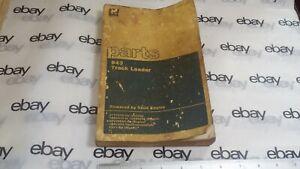 CAT Parts Manual 943 Track Type Loader 31Y1334-Up SEBP1445-01 12-1984