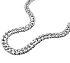 4,5mm Zwillingspanzerkette diam.925 Silber Kette L40-100cm oder Armband L16-25cm