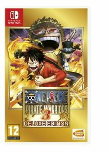 One Piece: Pirate Warriors 3 - Deluxe Edition | Nintendo Switch Game